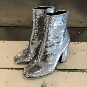Kendall & Kylie Sequin Boots